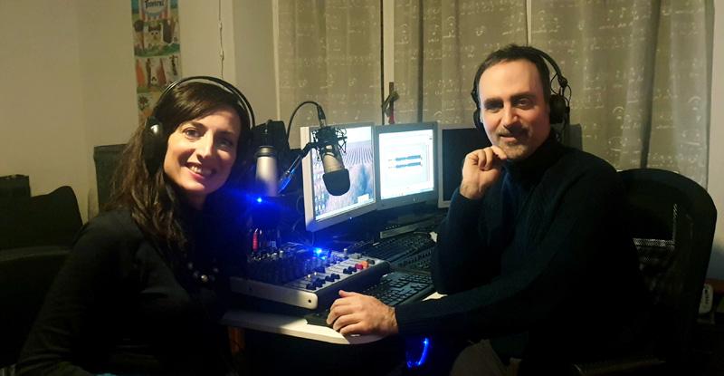 """""""Momenti di ilarità"""", talk radiofonico condotto da Gerry Longo e Ilaria Vergine"""
