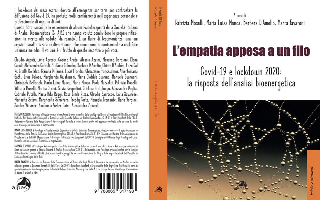 """E' uscito il libro """"L'empatia appesa a un filo"""""""